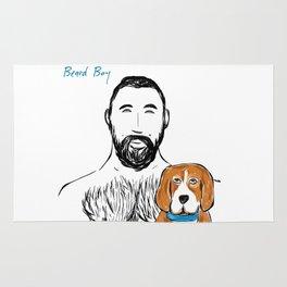 Beard Boy Pup 1 Rug