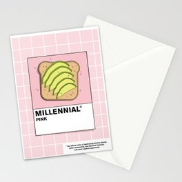 Millenial Pink Stationery Cards