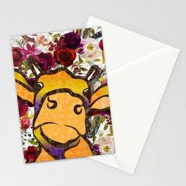 OnTheFarm-Cow Stationery Cards