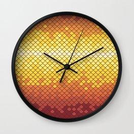 Dragonscale Dragonfire Wall Clock