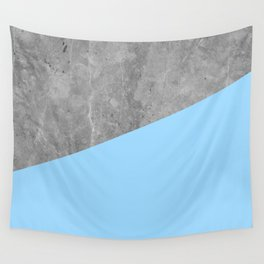 Geometry 101 Blue Raspberry Wall Tapestry