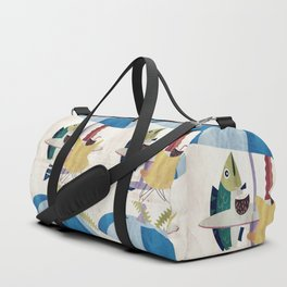 Day of the Fish Duffle Bag