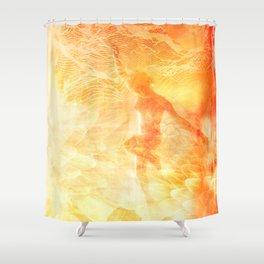 SHINING III Shower Curtain