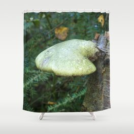 Woodland Plants Shower Curtain