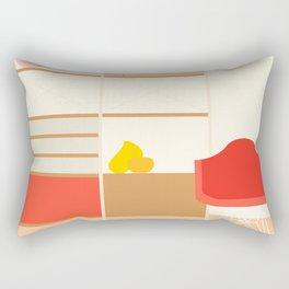 Inside mid century modern 317 Rectangular Pillow