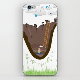 Deep Thinker iPhone Skin