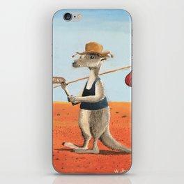The Traveller iPhone Skin