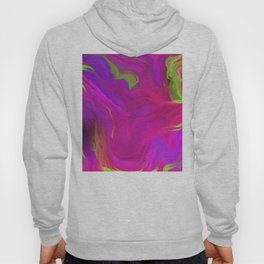 AGATE INTERPRETED:  PINK LAVA BEDS OIL PAINTING Hoody