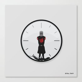 The Most Worthless Clock Canvas Print