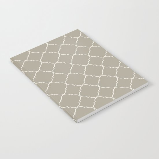 Moroccan Alabaster Blue Gray Notebook