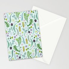 Sweet Ferns Stationery Cards