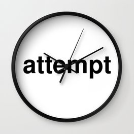 attempt Wall Clock