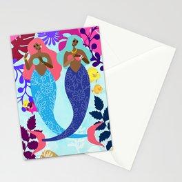 Mermaid Summer Stationery Cards