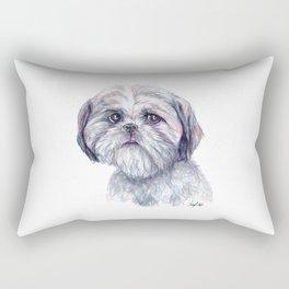 Shih Tzu - Dog Portrait Rectangular Pillow