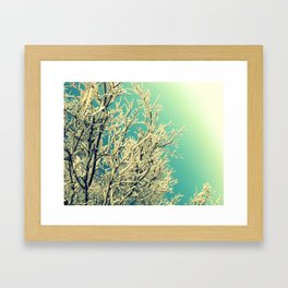 be inspired. Framed Art Print
