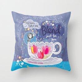 Extra Special Blend Throw Pillow