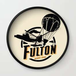 Fulton Recovery Service Wall Clock