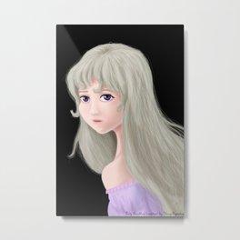 Lady Amalthea (rendition) Metal Print