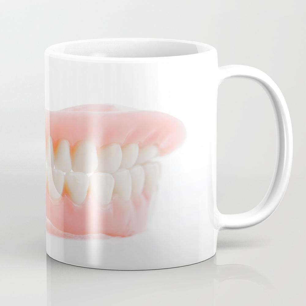 Medical Denture Smile Jaws Teeth Tea Cup by Claraveritas MUG7991008