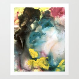 Color Flow Art Print