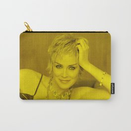 Sharon Stone - Celebrity (Photographic Art) Carry-All Pouch