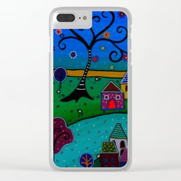 CIUDAD MARAVILLOSA Clear iPhone Case
