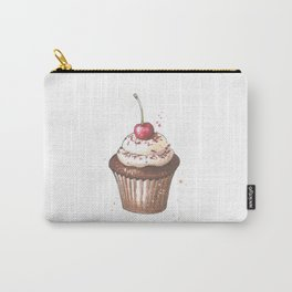 Delicious cupcake with cherry on top Carry-All Pouch