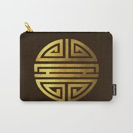 Four blessings Gold Carry-All Pouch