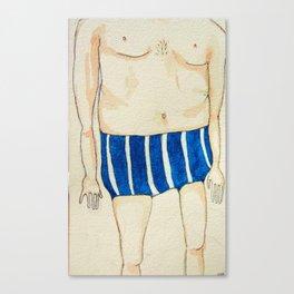 my swimming sensation Canvas Print