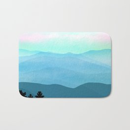 The Great Smoky Mountains Bath Mat