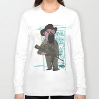 police Long Sleeve T-shirts featuring le police by liquidpig