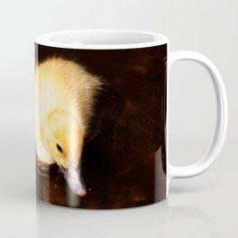 Baby Duckling Swimming Coffee Mug