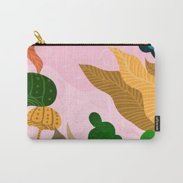 Tropical Composition Carry-All Pouch
