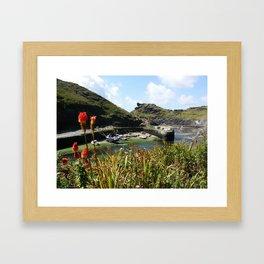 Boscastle,UK Framed Art Print