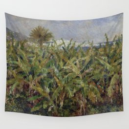 "Auguste Renoir ""Field of Banana Trees"" Wall Tapestry"