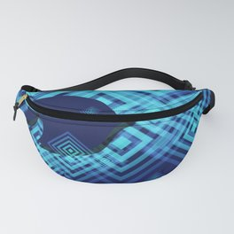 Blue Fish Angel Anglers Angles Fanny Pack