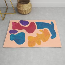 17 | 190330 Abstract Shapes Painting Rug