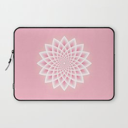 Pink Lotus Laptop Sleeve