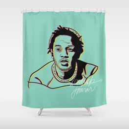 K.Dot Shower Curtain