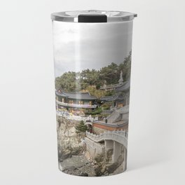 Haedong Yonggungsa Temple Travel Mug