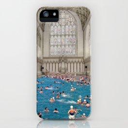 DIVINE DIVE iPhone Case