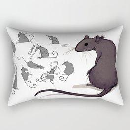 Feeling Ratty Rectangular Pillow