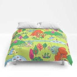 Bunny Land Comforters