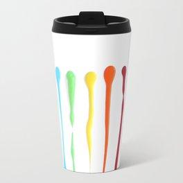 Paint Streaks Travel Mug