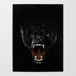 Gorilla attack Poster