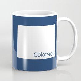 Colorado State in 2020 Navy blue Coffee Mug