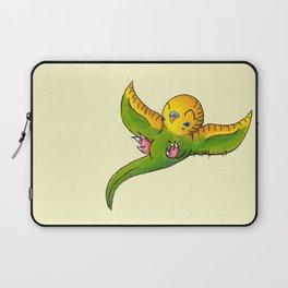 Little Green Parakeet Laptop Sleeve