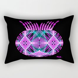 Selfie Psychedelic Rectangular Pillow