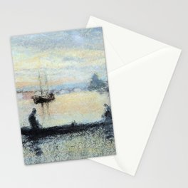 Note In Flesh Colour The Guidecca By James Mcneill Whistler | Reproduction Stationery Cards