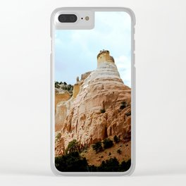 Sentinels Over the Sagebrush, No. 1 o 3 Clear iPhone Case